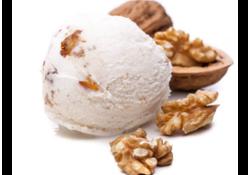 Une recette originale de glace aux noix